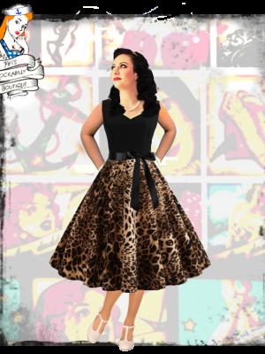 1950s dress with edge