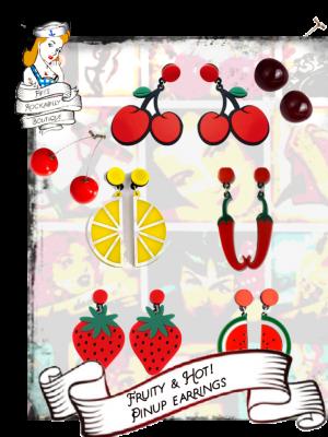 Fruity & Hot! Earrings