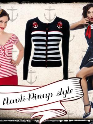 Nauti Pin-up style