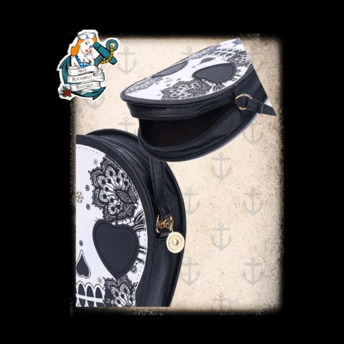 Sugar skull Rockabilly bag