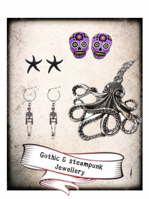 Gothic and Steampunk jewellery