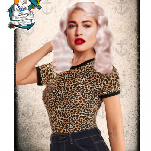 """Fifis Rockabilly """"wild thing"""" top"""