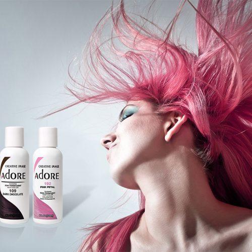 Adore semi permanent hair colour ( 18 colours )