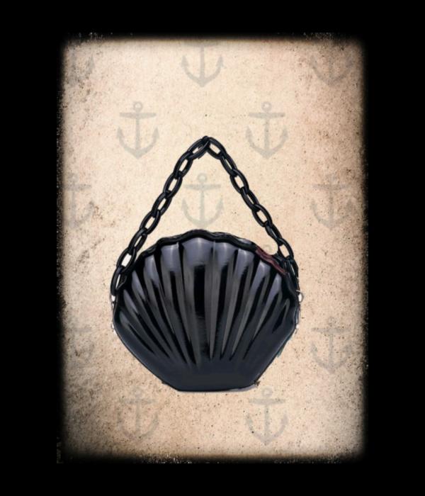 Goth shell bag