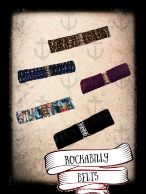rockabilly belts