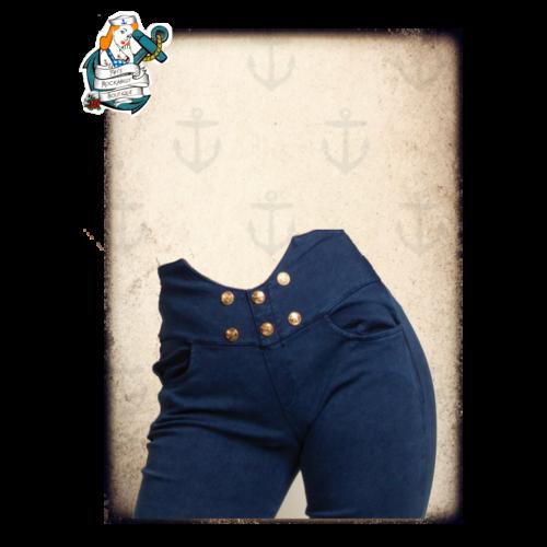 "Fifi's Rockabilly ""Nauti-pinup"" trousers"